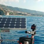 Campagna Verde come Vela: Gatto Mammone con il suo pannello solare in azione