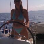 ...e la skipperessa anche